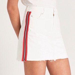 Topshop Moro Jean Skirt